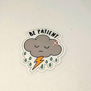 ✨BOGO OR FREE W/ BUNDLE✨ Sad Cloud Sticker NWT